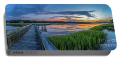 Heritage Shores Nature Preserve Sunrise Portable Battery Charger