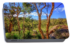 Portable Battery Charger featuring the photograph Heritage View, John Forest National Park by Dave Catley