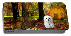 Hermes And Pumpkins Portable Battery Charger