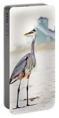 Heron And The Beach House Portable Battery Charger