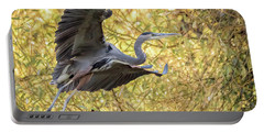 Heron In Flight Portable Battery Charger