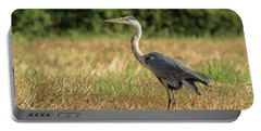 Heron In The Field Portable Battery Charger