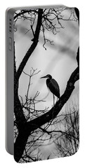 Heron In Tree Portable Battery Charger