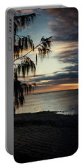 Heron Island Sunset  Portable Battery Charger