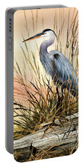 Heron Sunset Portable Battery Charger