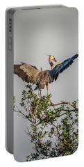 Heron Treetop Landing Portable Battery Charger
