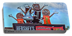 Hershey's Chocolate World Sign Portable Battery Charger
