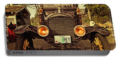 Hey A Model T Ford Truck Portable Battery Charger by Thom Zehrfeld