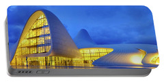 Portable Battery Charger featuring the photograph Heydar Aliyev Center by Fabrizio Troiani