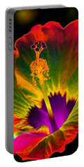 Hibiscus 01 - Summer's End - Photopower 3189 Portable Battery Charger by Pamela Critchlow