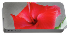 Hibiscus #2 Portable Battery Charger