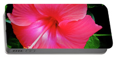 Hibiscus Blossom Portable Battery Charger by Tony Grider