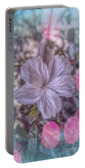 Portable Battery Charger featuring the photograph Hibiscus by Elaine Teague