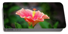 Hibiscus Rosa Sinensis Portable Battery Charger