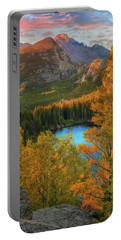 Hidden Overlook - Bear Lake Colorado By Thomas Schoeller Portable Battery Charger