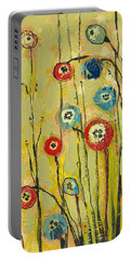 Hidden Poppies Portable Battery Charger