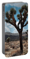 Hidden Valley Joshua Tree Portrait Portable Battery Charger by Kyle Hanson