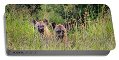 Hide-n-seek Hyenas Portable Battery Charger