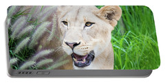 Hiding In Grass Portable Battery Charger