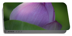 Hiding Lotus Portable Battery Charger