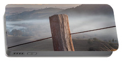 Portable Battery Charger featuring the photograph High Country by Az Jackson