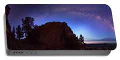 Portable Battery Charger featuring the photograph High Desert Dawn by Leland D Howard