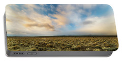 High Desert Morning Portable Battery Charger by Ryan Manuel