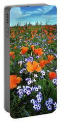 High Desert Wildflowers Portable Battery Charger