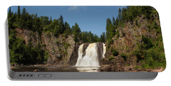 High Falls At Tettegouche State Park Portable Battery Charger