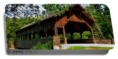 High Falls Covered Bridge Portable Battery Charger