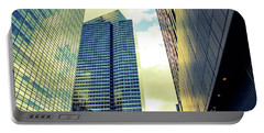 High Rise Reflections Nyc Portable Battery Charger