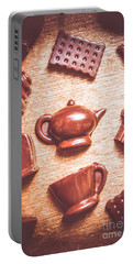 High Tea Snacks Portable Battery Charger