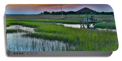 High Tide On The Creek - Mt. Pleasant Sc Portable Battery Charger