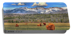 Highland Colorado Portable Battery Charger by Scott Mahon
