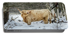 Highlander In Winter Portable Battery Charger