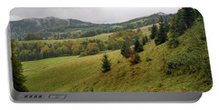 Highlands Landscape In Pieniny Portable Battery Charger