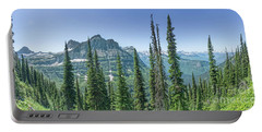 Highline Trail Panoramic - Glacier National Park Portable Battery Charger