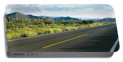 Highway 1 Baja Trans-peninsula Highway Portable Battery Charger