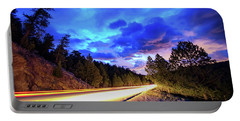 Portable Battery Charger featuring the photograph Highway 7 To Heaven by James BO Insogna
