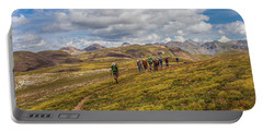 Hiking At 13,000 Feet Portable Battery Charger