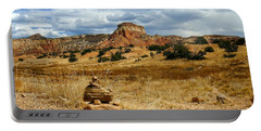 Portable Battery Charger featuring the photograph Hiking Ghost Ranch New Mexico by Kurt Van Wagner