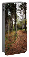 Hiking In Whitetail Woods Portable Battery Charger