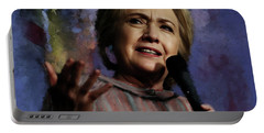 Hillary Clinton 01 Portable Battery Charger
