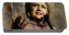 Hillary Clinton 02 Portable Battery Charger