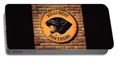 Hillcrest Elementary Panthers Sign Portable Battery Charger