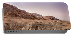 Hills By The Dead Sea Portable Battery Charger