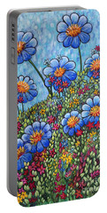 Hillside Blues Portable Battery Charger by Holly Carmichael
