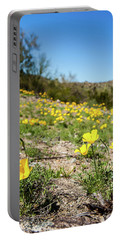 Hillside Flowers Portable Battery Charger