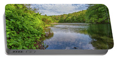 Hillside Pond Milton Massachusetts Portable Battery Charger