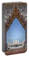 Hindu Architecture Portable Battery Charger